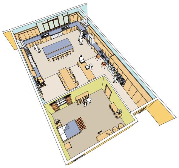 Mock Apartment Diagram 1