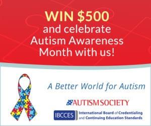 Autism Awareness post
