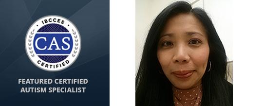Featured Certified Autism Specialist – Xarfie Sangalang Salvosa