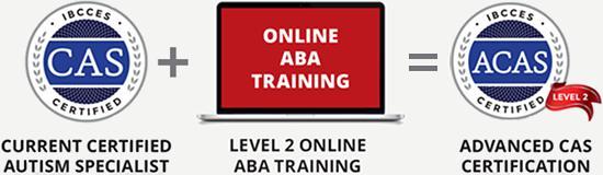 CAS + Online ABA Training = Advanced CAS