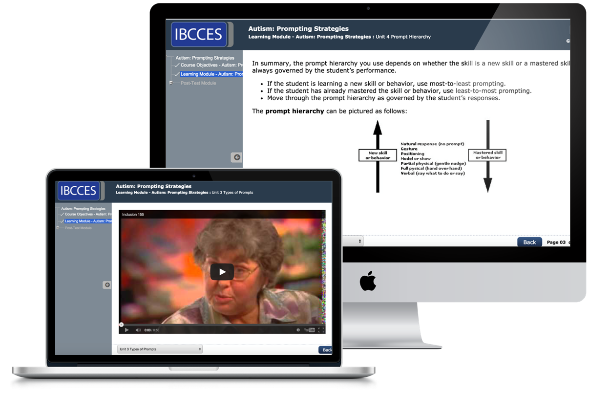 IBCCES University - Online training for Autism Specialists